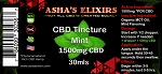 CBD Oil Tincture, 1500mg, Mint Flavor